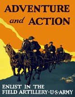 Adventure and Action by John Parrot - various sizes