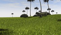 Lystrosaurus in a Grassy Field by Kostyantyn Ivanyshen - various sizes