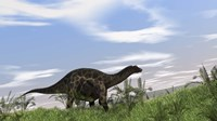 Dicraeosaurus Walking