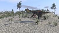 Gigantoraptor by Kostyantyn Ivanyshen - various sizes