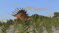 Kentrosaurus Grazing by Kostyantyn Ivanyshen - various sizes