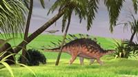 Kentrosaurus Walking in Field by Kostyantyn Ivanyshen - various sizes