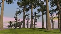 Large Brachiosaurus
