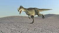 Monolophosaurus by Kostyantyn Ivanyshen - various sizes