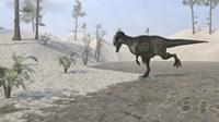 Monolophosaurus Running by Kostyantyn Ivanyshen - various sizes