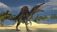 Spinosaurus Hunting for its Next Meal by Kostyantyn Ivanyshen - various sizes