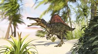 Spinosaurus Hunting for Meal by Kostyantyn Ivanyshen - various sizes
