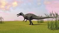 Suchomimus Walking in Grass by Kostyantyn Ivanyshen - various sizes