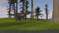 Tyrannosaurus Rex in Grass by Kostyantyn Ivanyshen - various sizes