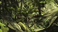 Utahraptor in a Prehistoric Forest by Kostyantyn Ivanyshen - various sizes
