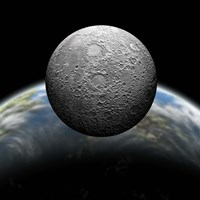 Cratered Moon by Marc Ward - various sizes