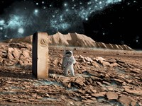 Astronaut on an Alien World by Marc Ward - various sizes