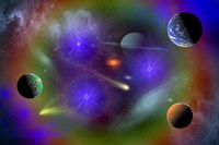 Conceptual Image of Outer Space by Mark Stevenson - various sizes