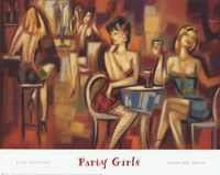 Party Girls Fine Art Print