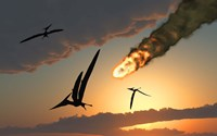 Pteranodons in Flight Fine Art Print