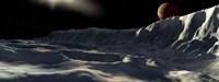 Ice Scarp on Callisto Fine Art Print