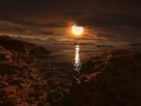Exoplanet Gliese 581D Fine Art Print