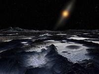 Kuiper Belt Object Fine Art Print