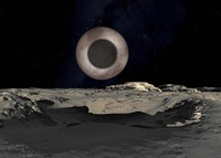 The Shadow of Charon on Pluto by Ron Miller - various sizes - $47.49