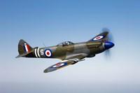 Supermarine Spitfire Mk-18 Fine Art Print