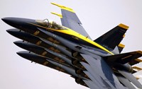 Four Blue Angels F/A-18C Hornets - various sizes