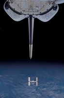 Space Shuttle Departs - various sizes