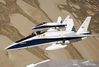 Two Dryden F/A-18s - various sizes - $30.49