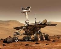 Mars Rover Fine Art Print