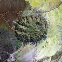 The Brandberg Massif in Northen Namibia Fine Art Print