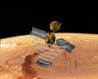 Mars Reconnaissance Orbiter Fine Art Print