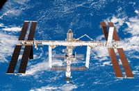Space Station Fine Art Print