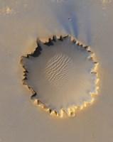 Victoria Crater on Mars Fine Art Print