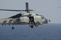Rescue Swimmer in SH-60B Sea Hawk - various sizes
