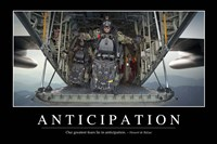 Anticipation: Inspirational Quote and Motivational Poster - various sizes
