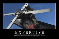 Expertise: Inspirational Quote and Motivational Poster - various sizes, FulcrumGallery.com brand
