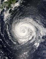 Typhoon Fitow - various sizes