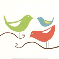 Songbirds I Fine Art Print