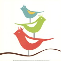 Songbirds III Fine Art Print