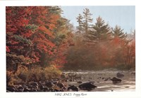 "Foggy River by Mike Jones - 39"" x 28"" - $29.49"