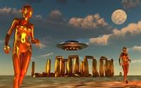 Alien Interdimensional Beings by Mark Stevenson - various sizes