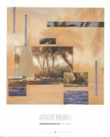 Anoetic Palms I Fine Art Print