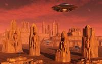 Aliens Leaving Mars by Mark Stevenson - various sizes