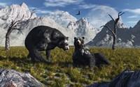 Arctodus Bears by Mark Stevenson - various sizes