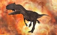 Carnivorous Allosaurus by Mark Stevenson - various sizes