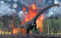 Diplodocus Sauropod Dinosaur by Mark Stevenson - various sizes