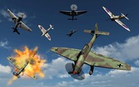 German Ju 87 Stuka Dive Bombers by Mark Stevenson - various sizes