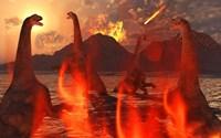 Herd of Dinosaurs by Mark Stevenson - various sizes - $47.99