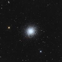 Messier 13, The Great Globular Cluster in Hercules Fine Art Print
