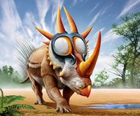 Rubeosaurus Fine Art Print