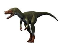 Proceratosaurus Dinosaur Fine Art Print